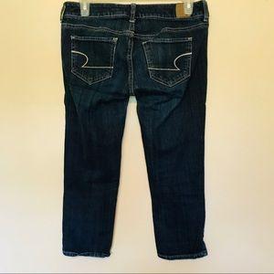 American Eagle Skinny Denim Capri Jeans Size 4 F5